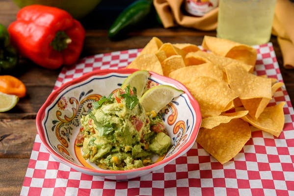 Award Winning Gourmet Guacamole & Chips