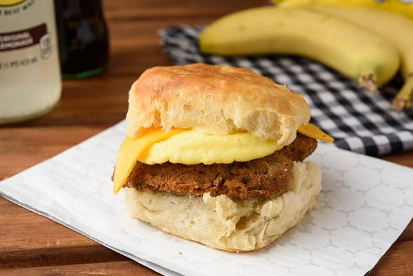 Steak Egg & Cheese Biscuit