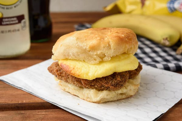 Steak Egg Biscuit