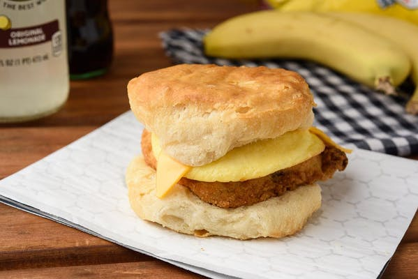 Chicken Egg & Cheese Biscuit