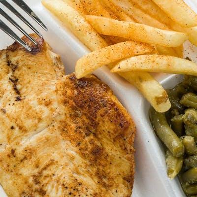 Grilled Chicken Basket