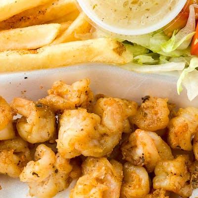 Grilled Shrimp Basket