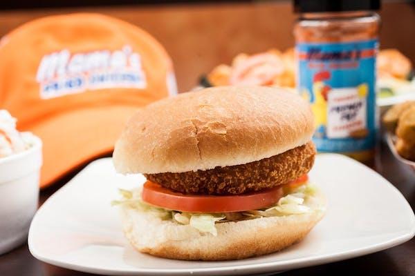 Shrimp or Crab Burger