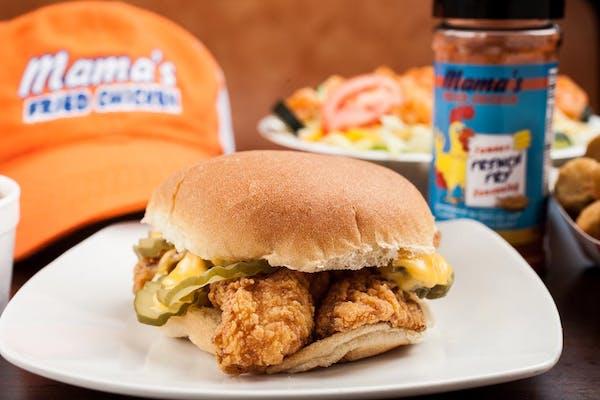 Fish or Shrimp Sandwich
