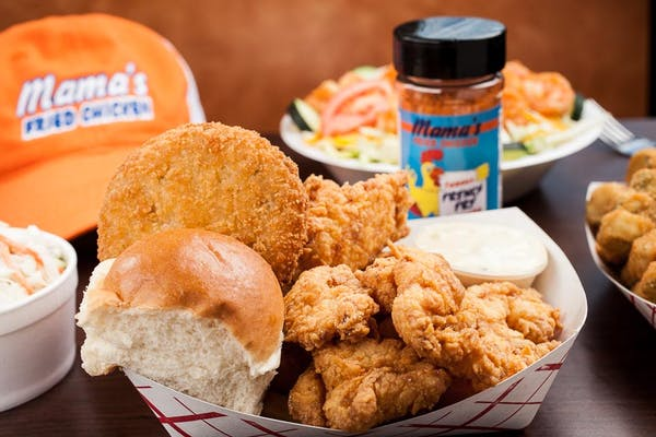Fried Seafood Trio Basket