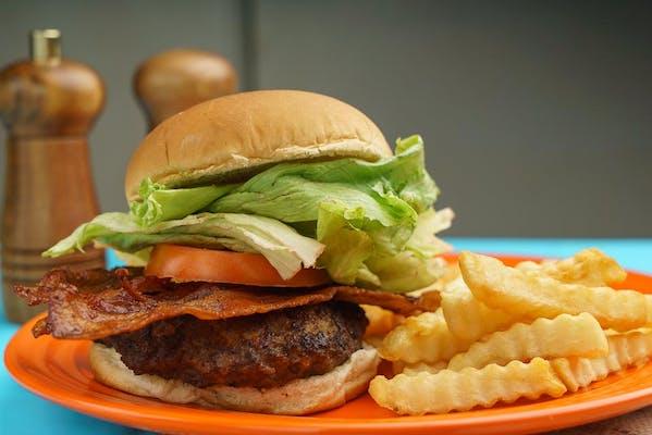 Homemade Burger Combo