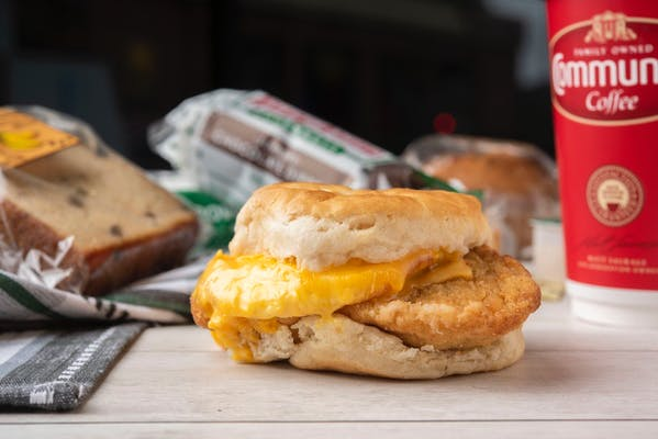 Chicken, Egg & Cheese Biscuit