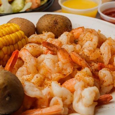 Hot Boiled Shrimp