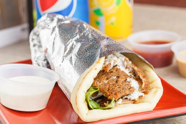 Gyro Beef Shawarma Sandwich