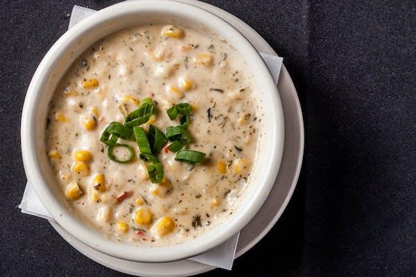 Sweet Corn & Shrimp  Soup