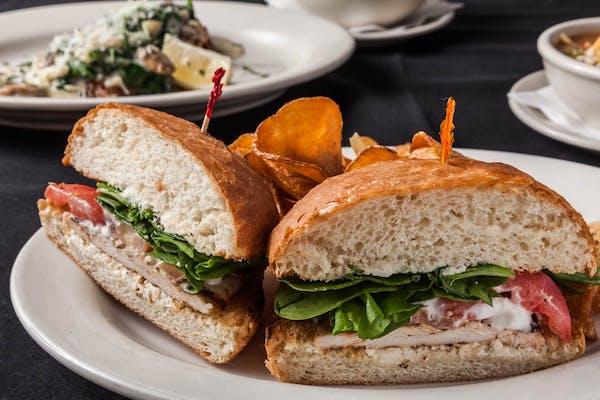 Spinach Feta Chicken Sandwich