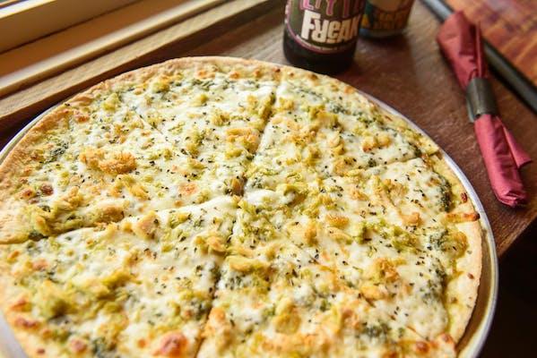 The Pesto Chicken Pizza