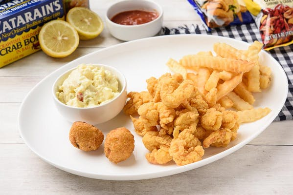 6. Popcorn Shrimp Platter