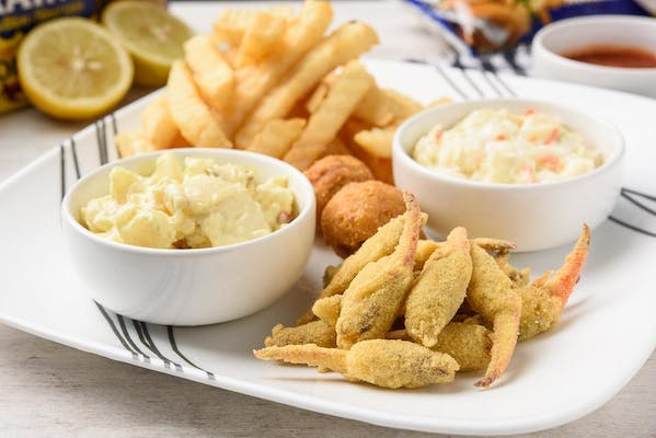 10. Fried Crab Claws Platter
