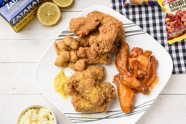 1. (6 pc.) Wing Special