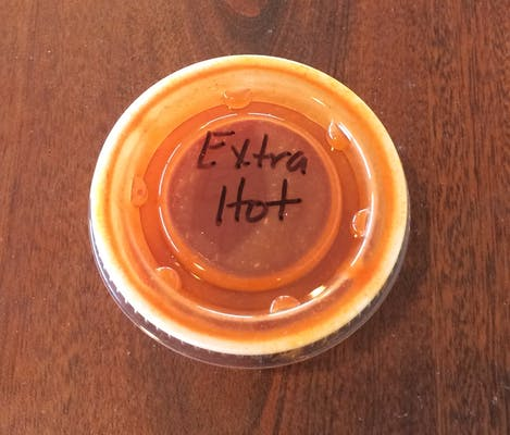 Side of Extra Hot Sauce