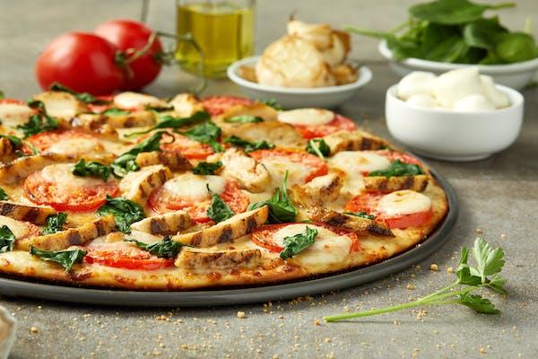 Chicken Spinach Mozzarella Pizza