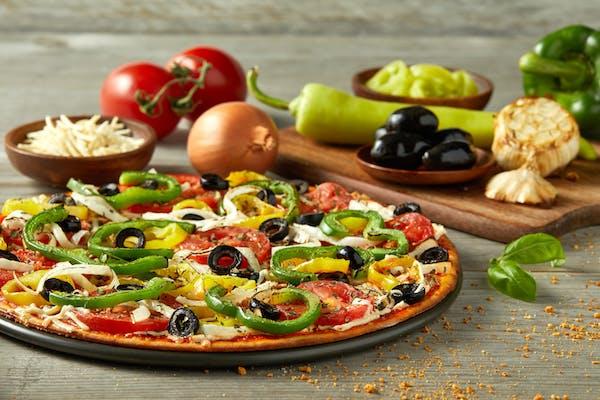 Vegan It's Greek To Me Pizza