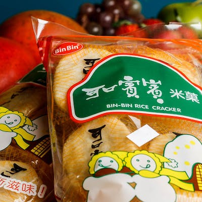 Bin-Bin Rice Crackers