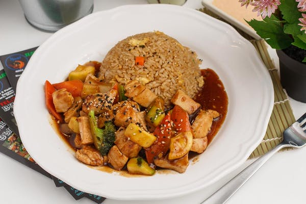 Hibachi Chicken Entree