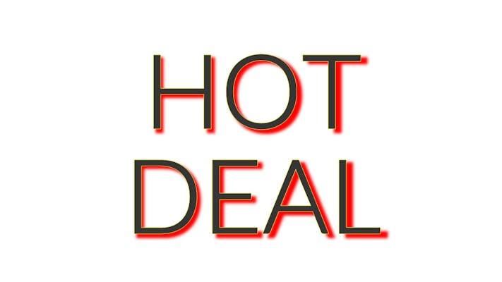 12 Hot Wings Deal (12 pcs, get $1 off)