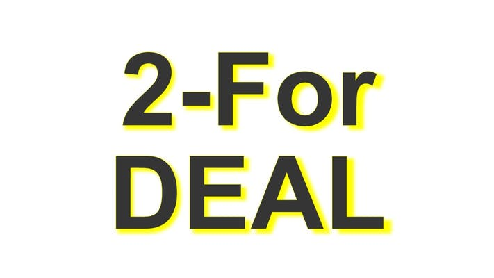 (2) 8 in. All Meat Personal Pizzas 2-for Deal (16 in. total!)