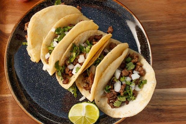 (5 pc.) Asada Tacos