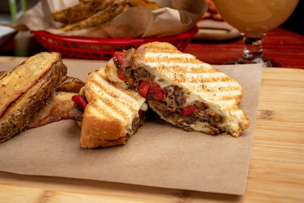 Philly Cheese Panini