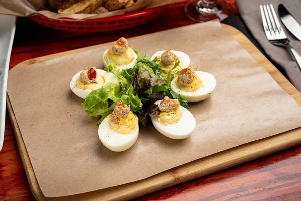 Chesapeake Deviled Eggs