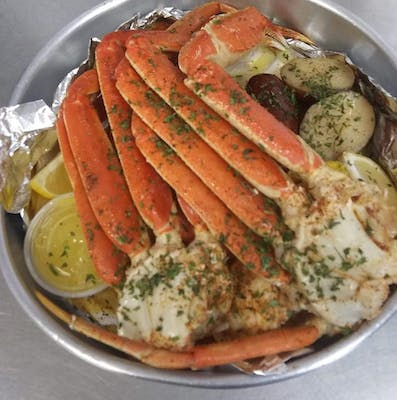 Crab Leg Steam Pott