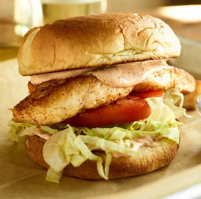 Red Fish Sandwich