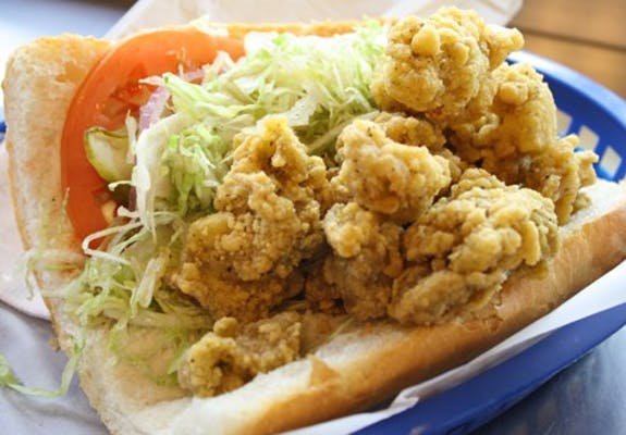 Gator Tail Po-Boy