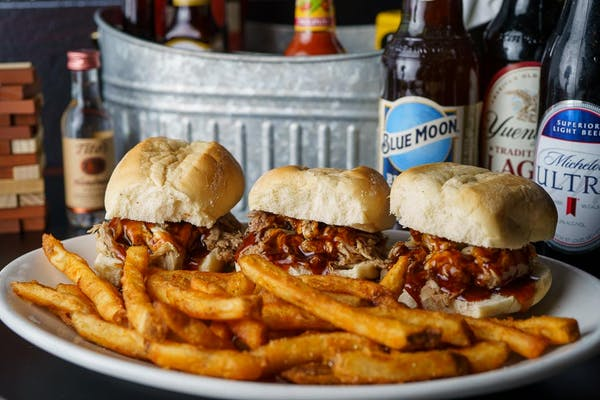 Pull Pork Sliders