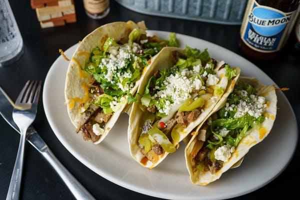 3 Steak Fajita Tacos