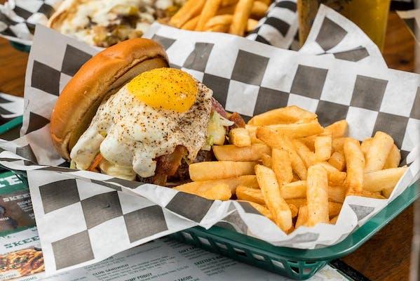 BBQ Hangover Burger