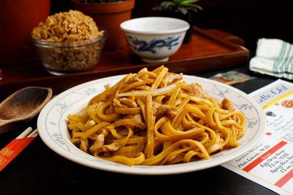 1. Soy Lo Mein Noodle with Onion