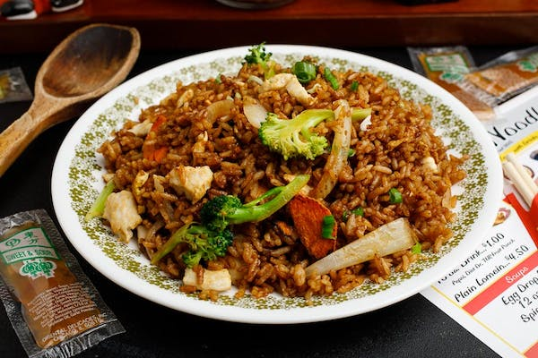 3. Soy Fried Rice with Egg & Onion