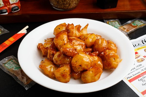 7. Honey Chicken