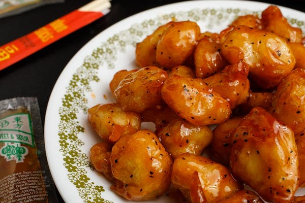 8. Orange Chicken