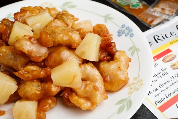 16. Pineapple Chicken