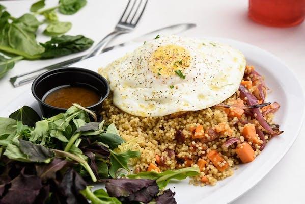 Quinoa Hash
