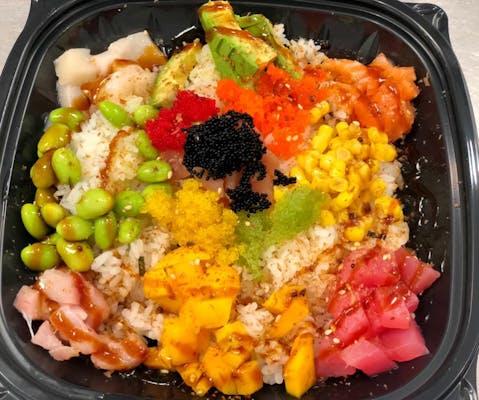 Suki's Rainbow Poké Bowl