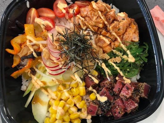 Create Your Own Poké Bowl