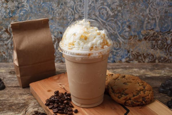 (16 oz.) Frozen Caramel Latte