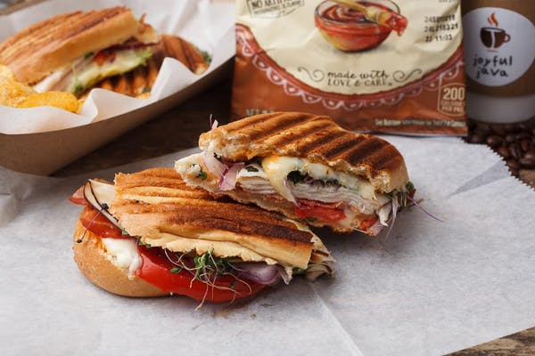 Chipotle Turkey Melt Panini Sandwich