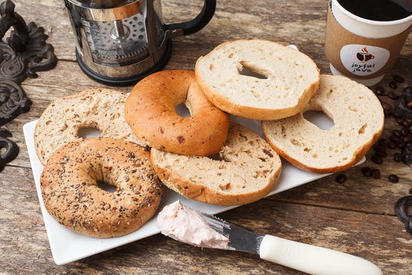 Bagel with Spread