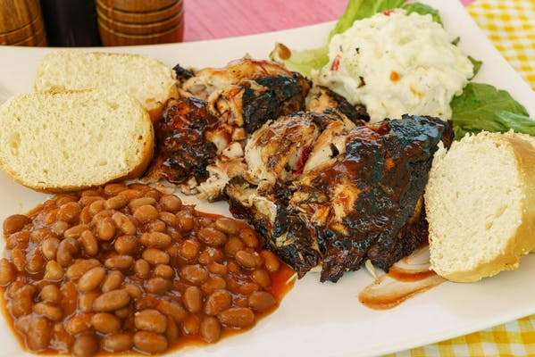 BBQ Jerk Chicken Plate