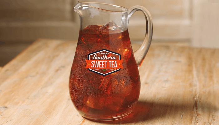(½) Gallon Church's Southern Sweet Tea
