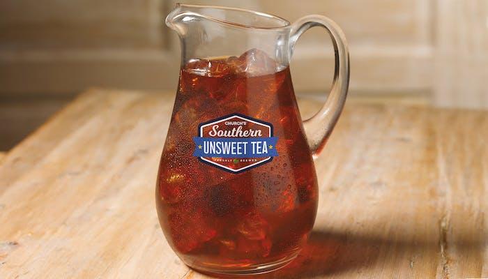 (½) Gallon Church's Southern Unsweetened Tea