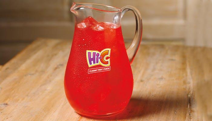(½) Gallon Hi-C Flashin' Fruit Punch